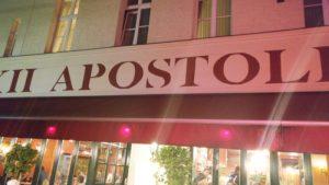 Eingang mit Logo | 12 apostel