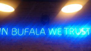 Pizzeria Malafemmena - Wand Slogan