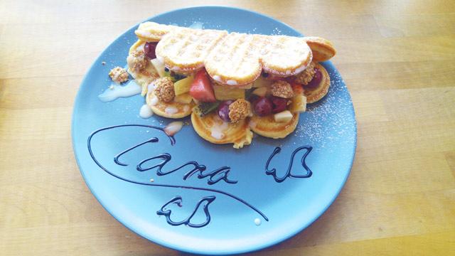 personalisierte Waffeln bei Waffle Brothers