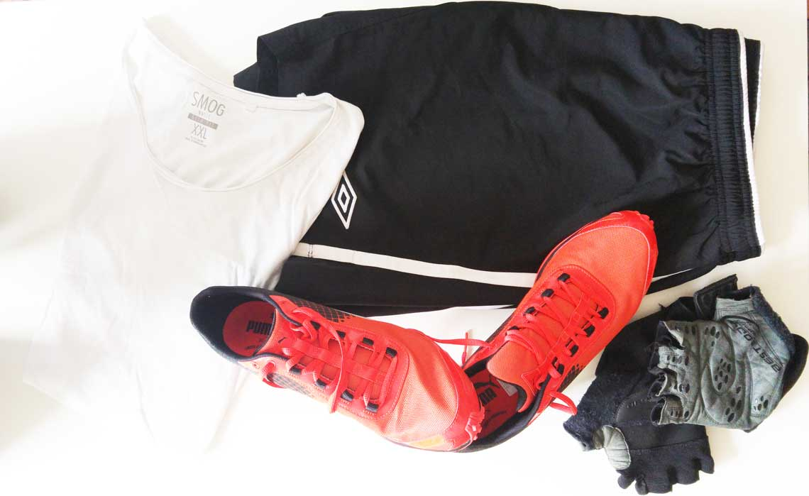Fitnessbekleidung, Sport Outfit, Fitness Outfit für Herren, Puma, Umbro