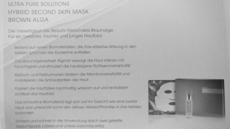 informationen zur gesichtsmaske + spray