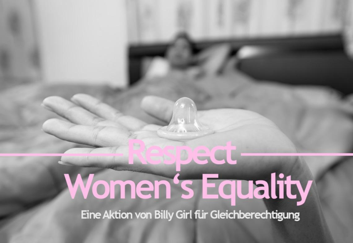 Weltfrauentag – Billy Boy Kondome werden zu Billy Girl [Anzeige]