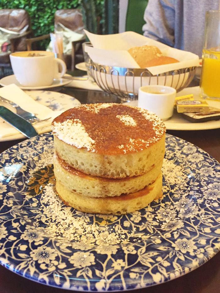 Frühstücken in Berlin - Pancake