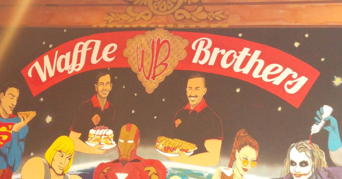 Waffeln bei Waffle Brothers – Der Waffel-Laden in Berlin